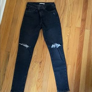 Levi's the high rise skinny